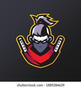 Ninja Mascot Esports Logo Templates