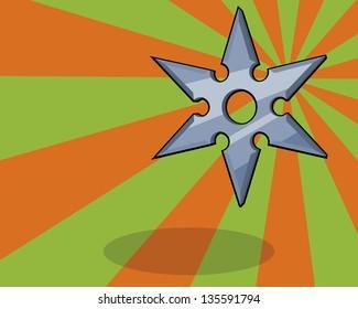 ninja shuriken or star