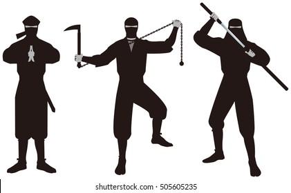 "Ninja. ""Ninja"" is that of espionage and intelligence personnel on the history of Japan."