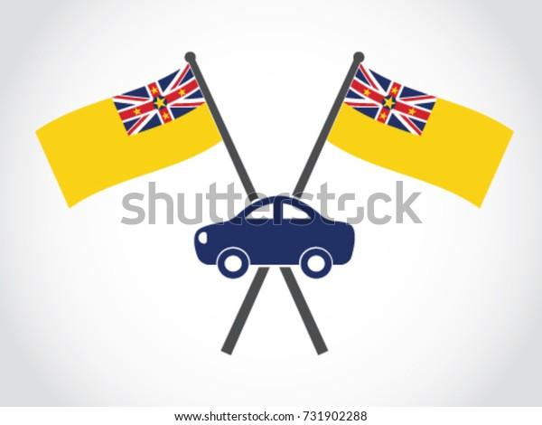 Niue Emblem Car Sales