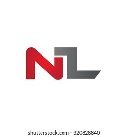 NL company group linked letter logo