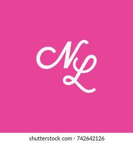 NL Letter Logo, Icon, Vector element design