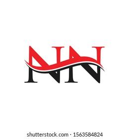 NN Letter Linked Logo. NN Letter Modern Business Logo Vector template.