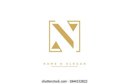 N,NN Abstract Letters Logo monogram