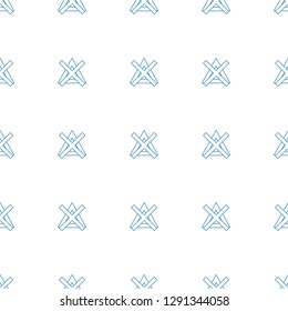 no bleaching icon pattern seamless white background. Editable line no bleaching icon. no bleaching icon pattern for web and mobile.