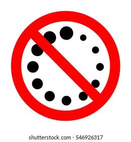 No Circular loading sign.