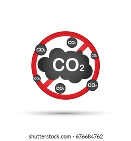 No co2 icon