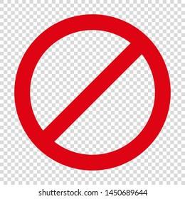 no entry restriction sign forbidding parking etc vector