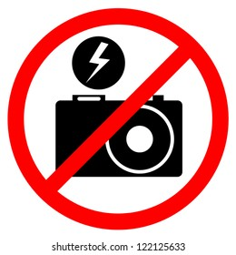 No flash photo