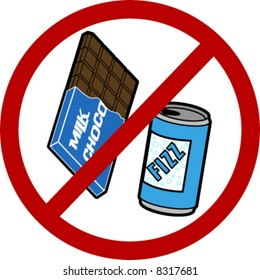 No Food/ Drink Sign