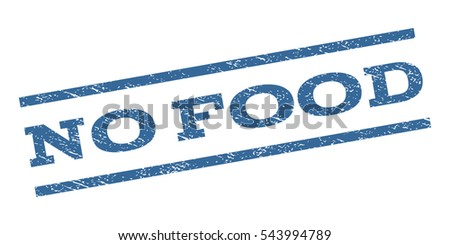 No Food Watermark Stamp Text Caption Stock Vector (Royalty Free