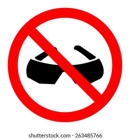 No Glasses icon great for any use. Vector EPS10.
