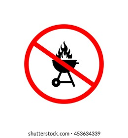 No grill sign.