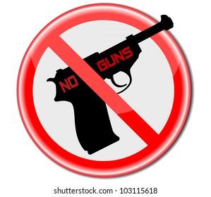 No Guns .Vector