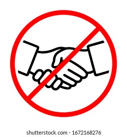 No Handshake Hd Stock Images Shutterstock All images is transparent background and free download. https www shutterstock com image vector no handshake sign vector illustration isolated 1672168276