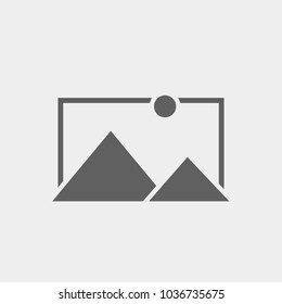 No image available icon. Template for No image or Picture coming soon. Vector illustration isolated on grey background.
