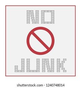 no junk mail vector icon, no mail spazzatura icona vettoriale
