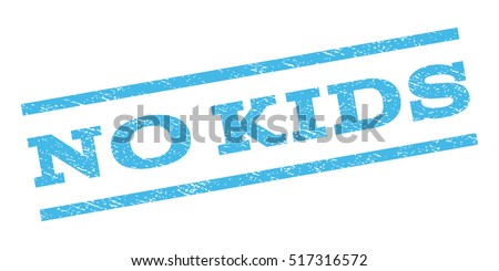 No Kids Watermark Stamp Text Tag Stock Vector (Royalty Free