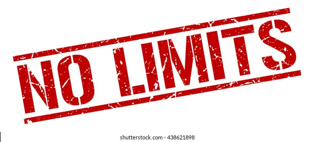 no limits stamp.stamp.sign.no.limits.
