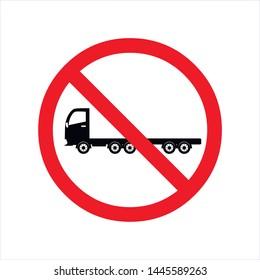 no lorry icon no truck vector