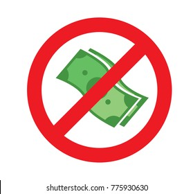 no money. sign of caution dont use money