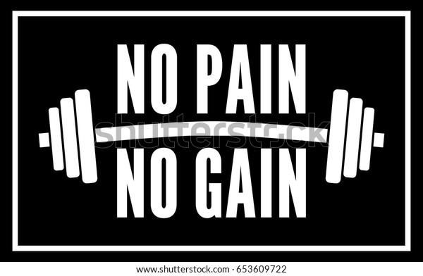 No Pain No Gain Deutsch