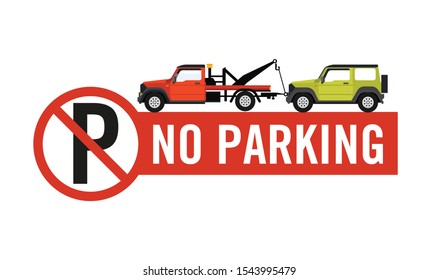 No parking sign Private Property, Tow away zone