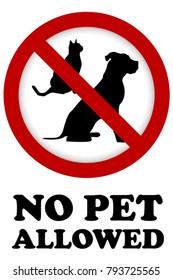 Kein Haustier erlaubt