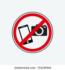 no photo icon vector