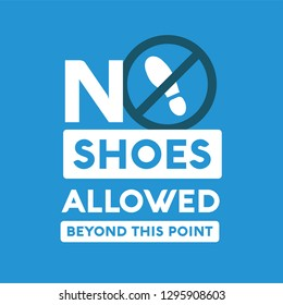 graphic regarding No Shoes Sign Printable titled No Footwear Authorized Photos, Inventory Visuals Vectors Shutterstock