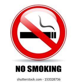 No smoking vector illustration
