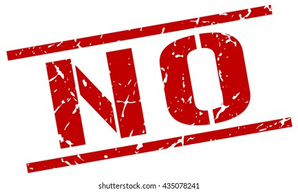 no grunge vintage no square stamp stock vector royalty free