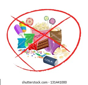No Candy Images, Stock Photos & Vectors   Shutterstock