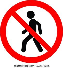 no walk