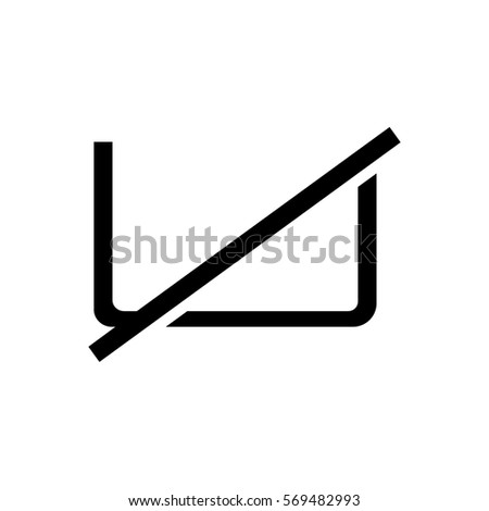 No Wash Icon Stock Vector Royalty Free 569482993 Shutterstock
