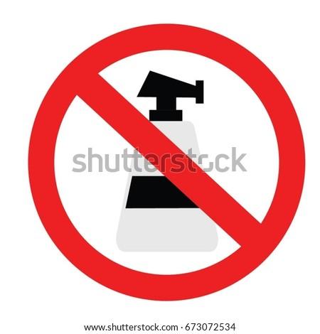 No Wash Vector Icon Stock Vector Royalty Free 673072534 Shutterstock