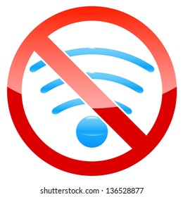 No Wifi Images, Stock Photos & Vectors   Shutterstock