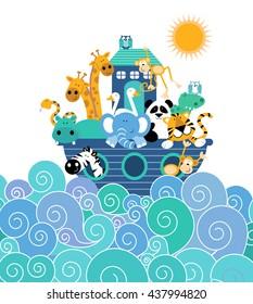 Noah's Ark Blue