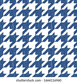 Noise Classic blue - color of the year 2020 for fashion. abstract monochromatic design seamless patterns. Graphic modern pattern. Simple graphic design.