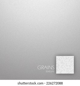 Noise detail grains texture in gray color vector illustration