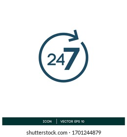 non stop icon design element vector eps 10
