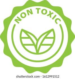 non toxic green outline icon