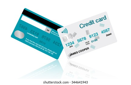 Non-contact Credit Card With Simple Design