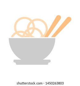 noodles icon. Logo element illustration. noodles design. colored collection. noodles concept. Can be used in web and mobile
