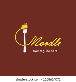 The  Noodles logo templates, suitable for any business related to noodles, fast food restaurants, Korean food, Japanese food or any other business.
