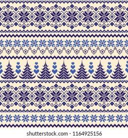 Nordic pattern illustration.