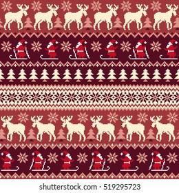 Nordic pattern illustration