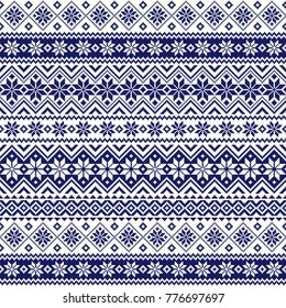 Nordic pattern illustration vector