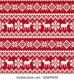 Nordic traditional pattern