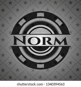 Norm dark icon or emblem